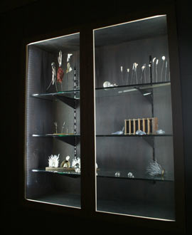Cabinet in museum